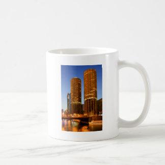 Chicago Marina Towers Mugs