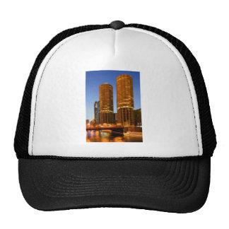 Chicago Marina Towers Trucker Hat