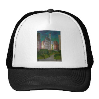Chicago Michigan Ave Trucker Hat
