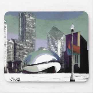 Chicago Millennium Park Mouse Pad