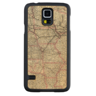 Chicago Milwaukee and St Paul Ry and connections Carved® Maple Galaxy S5 Case