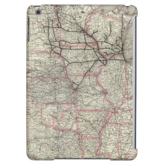 Chicago Milwaukee and St Paul Ry and connections Case For iPad Air