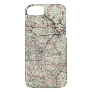 Chicago Milwaukee and St Paul Ry and connections iPhone 7 Case