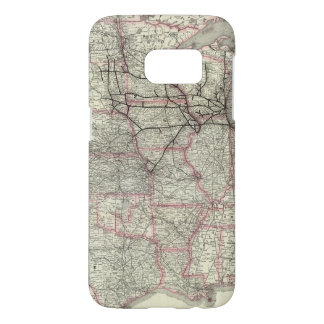 Chicago Milwaukee and St Paul Ry and connections Samsung Galaxy S7 Case