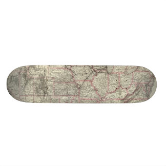 Chicago Milwaukee and St Paul Ry and connections Skateboard