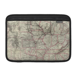 Chicago Milwaukee and St Paul Ry and connections Sleeve For MacBook Air