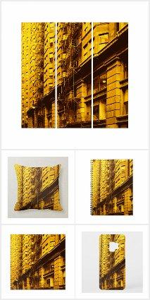 Chicago Monadnock Architectural Pop Art