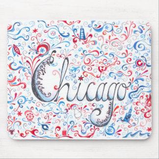 Chicago Mousepad Alfombrillas De Raton