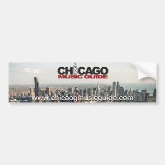 Chicago Music Guide Bumper Sticker #5