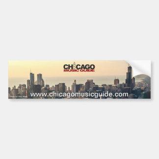 Chicago Music Guide Bumper Sticker #6