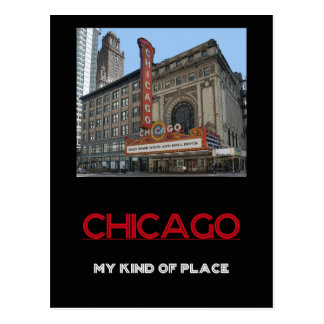 Chicago: My Kind of Place Travel Postcard