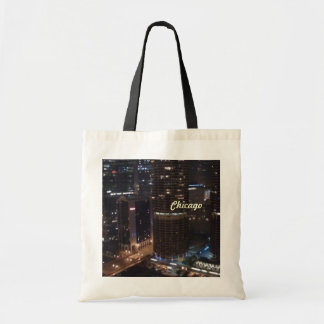 Chicago , My Kind Of Town Budget Tote Bag
