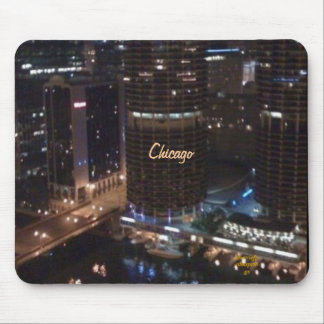 Chicago !! MY KIND TOWN Mouse Pad