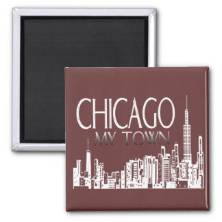 Chicago My Town Magnets