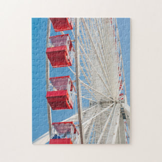 Chicago Navy Pier Ferris Wheel Puzzle