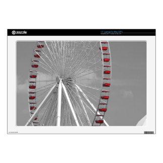 """Chicago Navy Pier Ferris Wheel Skin For 17"""" Laptop"""