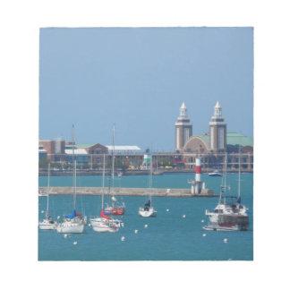 Chicago Navy Pier Notepad