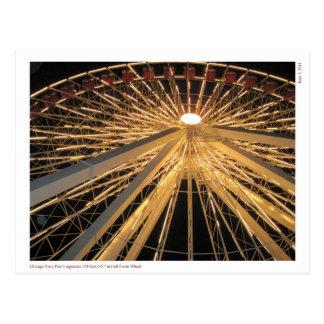Chicago Navy Pier's Signature Ferris Wheel Postcard