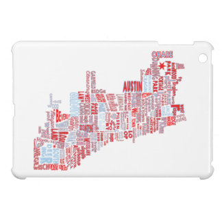 Chicago Neighborhood Map Case For The iPad Mini