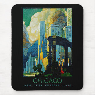 Chicago ~ New York Central Lines Mouse Pad