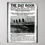 Chicago Newspaper April 16 1912 Titanic Poster