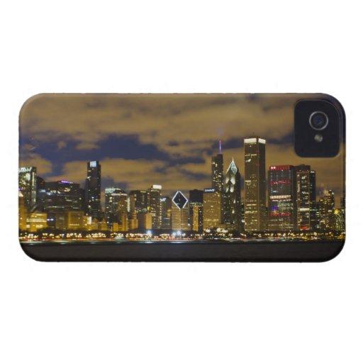 Chicago Night Skyline iPhone 4/4S Case