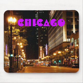chicago nightlife mouse pad
