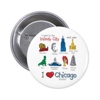 Chicago--Niño-Icono-NUEVO [Co Pin Redondo De 2 Pulgadas