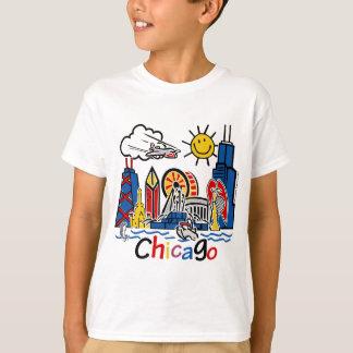 Chicago-NIÑOS [convertidos] Playera