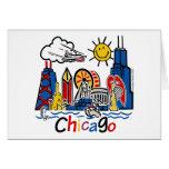 Chicago-NIÑOS [convertidos] Tarjeta De Felicitación
