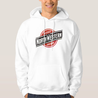Chicago & North West Railways Railroad Hiking Duck Hoodie