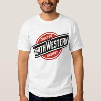 Chicago & North West Railways Railroad Hiking Duck Shirt