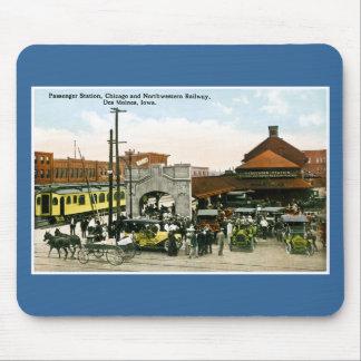 Chicago & Northwestern Railway, Des Moines, Iowa Mouse Pad