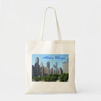 Chicago ocultada bolsa tela barata