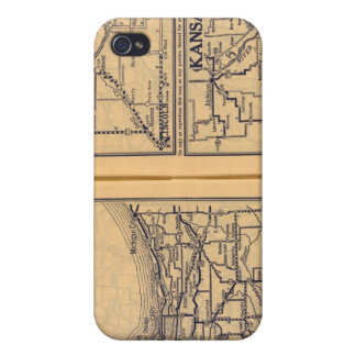 Chicago, Omaha, Kansas City Cover For iPhone 4
