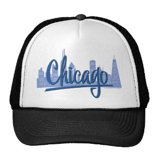 Chicago-Oscuro-Azul Gorros