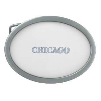 Chicago Oval Belt Buckle