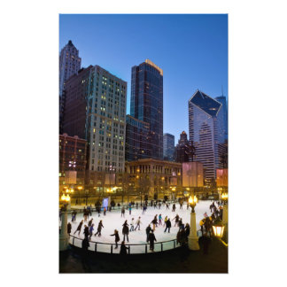 Chicago Park Skate Photo Art
