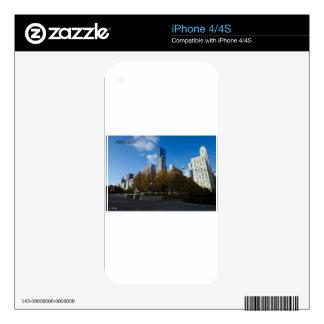 Chicago - parque del milenio iPhone 4 skin