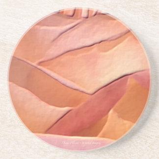 Chicago Peace Closeup Coaster
