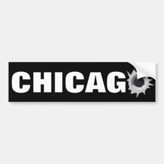 Chicago Pegatina Para Auto