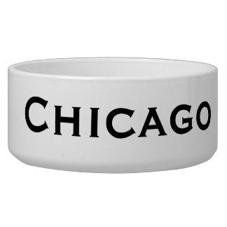 Chicago Dog Food Bowl