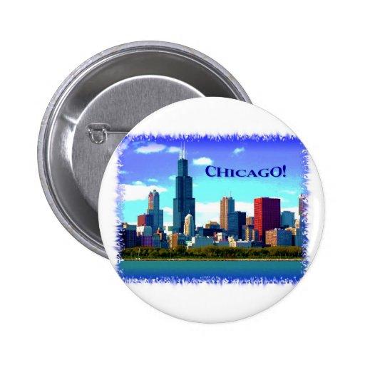Chicago Pin Redondo 5 Cm
