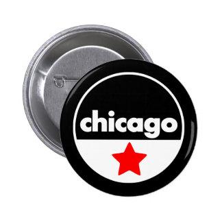 Chicago Pin Redondo De 2 Pulgadas