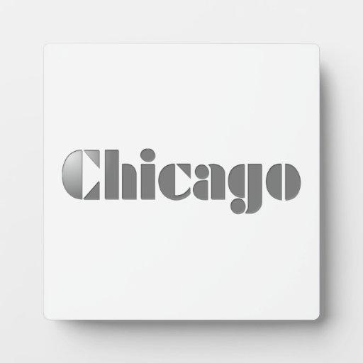 Chicago Placas Para Mostrar