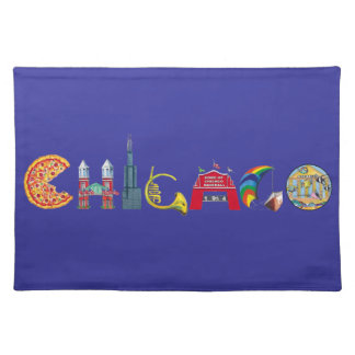 Chicago placemats