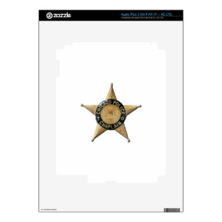 Chicago Police Chaplain Decal For iPad 3