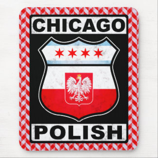 Chicago Polish American Mousemat Mouse Pad