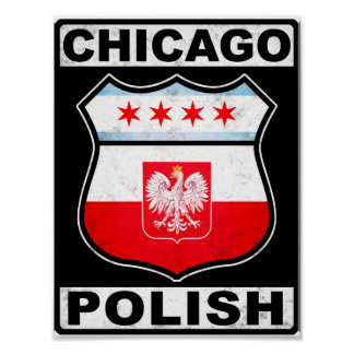 Chicago Polish American Poster