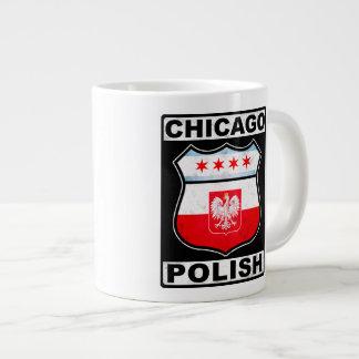 Chicago Polish American Extra Large Mugs